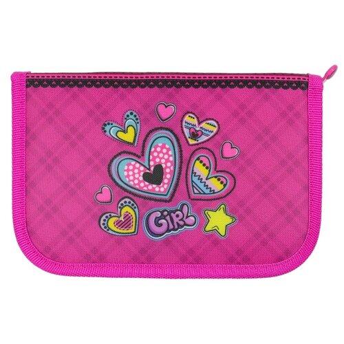 Mag Taller Пенал Hearts с наполнением (27 предметов) розовый mag taller рюкзак zoom flowers разноцветный