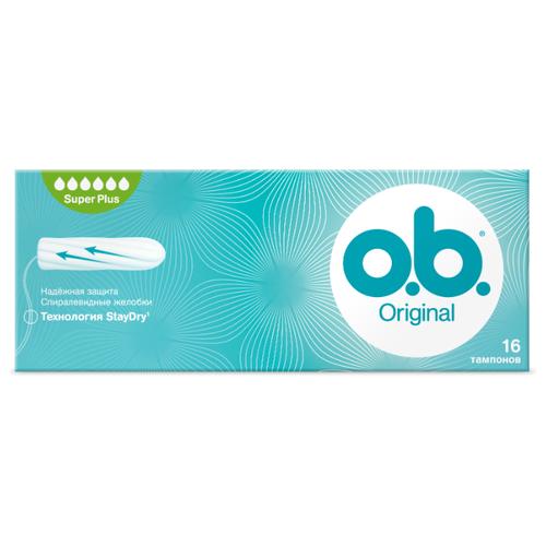 Купить O.b. тампоны Original Super Plus 16 шт.