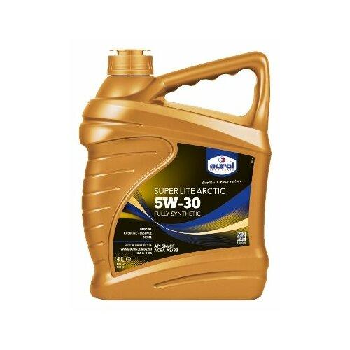 Синтетическое моторное масло Eurol Super Lite Arctic 5W-30, 4 л по цене 3 575