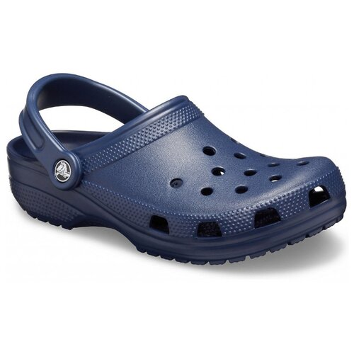 сабо женские crocs classic mammoth luxe цвет черный 204211 001 размер m7 w9 39 40 Сабо Crocs Classic, размер 39-40(M7/W9), navy
