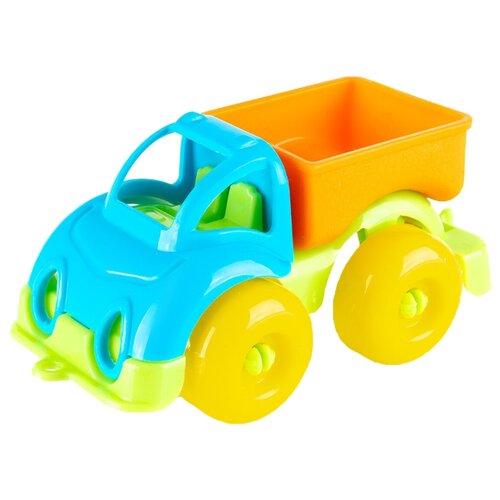 Купить Грузовик Knopa Вжух в городе (86220) 10 см голубой/оранжевый/зеленый, Машинки и техника