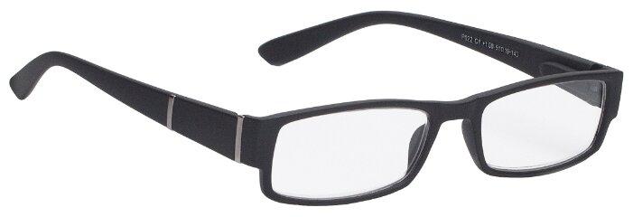 Очки корректирующие Lectio Risus P022, + 2.50, цвет оправы: черный