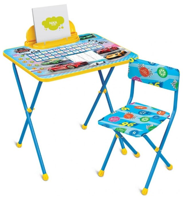 Комплект Nika стол + стул Познайка. Большие гонки (КП2/15)