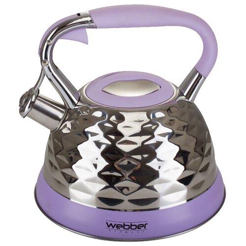 Webber Чайник ВЕ-0541 3 л стальной