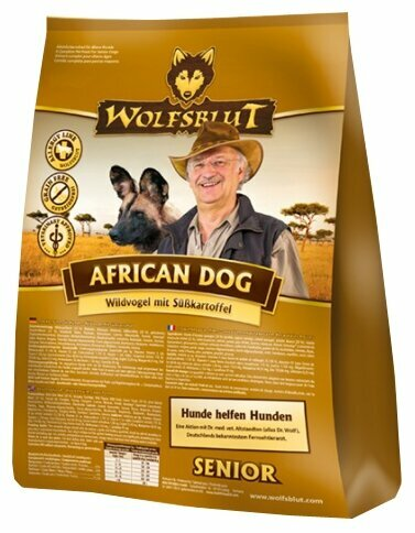 Корм для собак Wolfsblut African Dog Senior (2 кг)