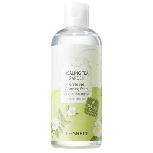 The Saem вода очищающая увлажняющая с экстрактом зеленого чая Healing Tea Garden, 300 мл the saem салфетки очищающие с экстрактом зеленого чая healing tea garden 60 шт