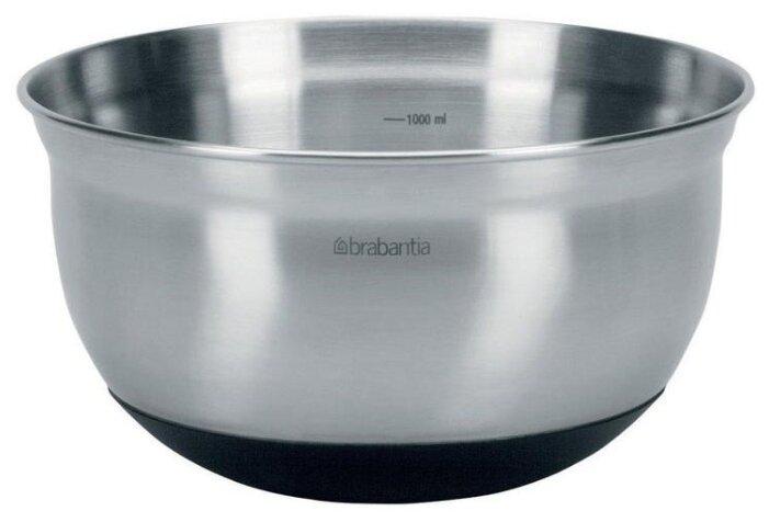BRABANTIA Миска , объем: 1 л, материал: нержавеющая сталь B363825