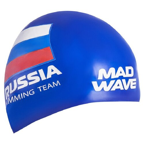 Фото - Шапочка для плавания MAD WAVE Swimming Team синий men s swimming trunks shorts mad wave breaker tmallfs