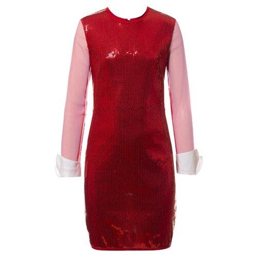 Платье Nota Bene размер 158, красный платье oodji ultra цвет красный белый 14001071 13 46148 4512s размер xs 42 170