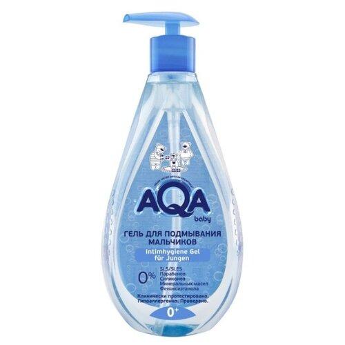 Купить AQA baby Гель для подмывания мальчиков 250 мл, Средства для купания