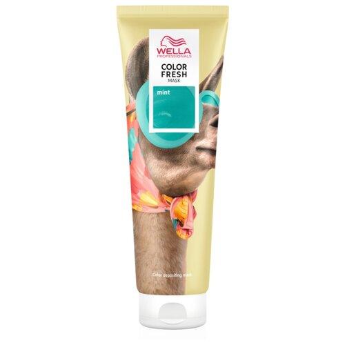 Wella Professionals Оттеночная маска для волос Color Fresh Mint (Мятный), 150 мл  - Купить