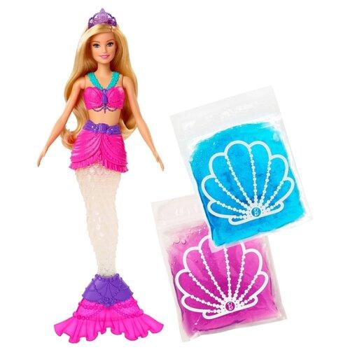 Фото - Кукла Barbie Dreamtopia Русалочка со слаймом, GKT75 кукла barbie dreamtopia