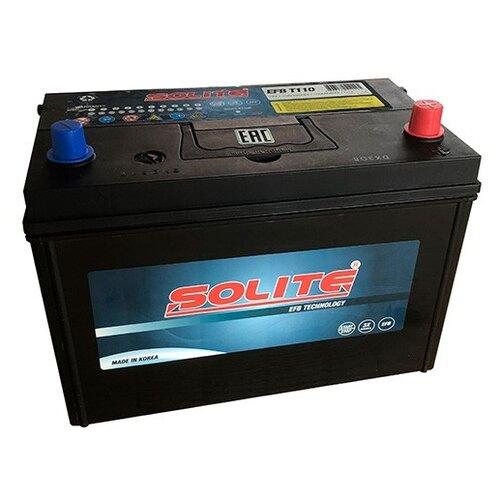 Автомобильный аккумулятор Solite EFB Т110 автомобильный аккумулятор solite cmf 78 750