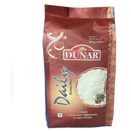 Рис Dunar Басмати Daily длиннозерный шлифованный 500 г рис длиннозерный националь басмати 500 г