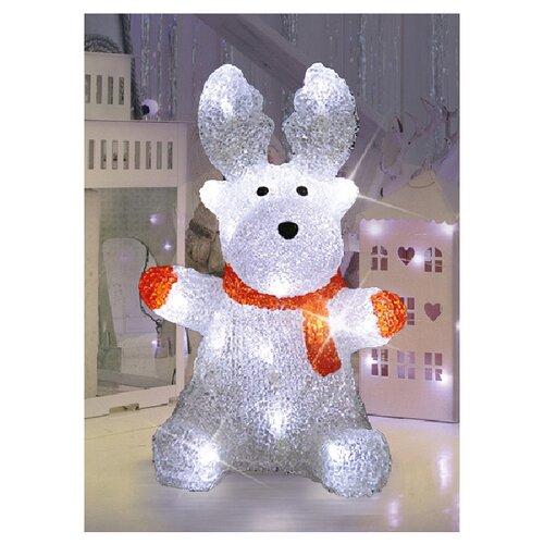 Фигурка NEON-NIGHT Олененок в шарфе 30 см бесцветный фигура neon night home олененок в шарфе фор олененок 24лам акрил 513 314