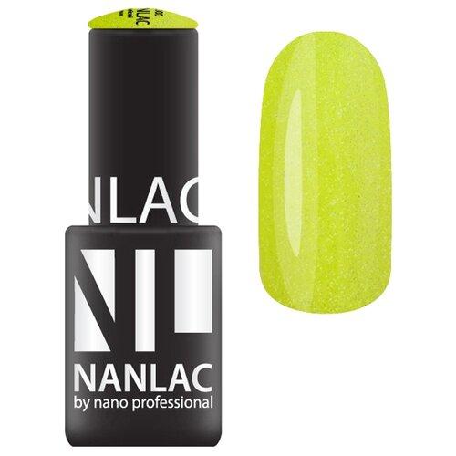 Гель-лак для ногтей Nano Professional Мерцающая эмаль, 6 мл, NL 2123 мадагаскарская ваниль