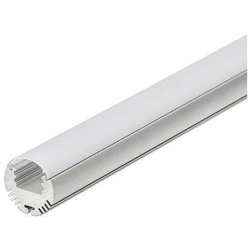 Комплект (профиль, рассеиватель) Arlight ALU-ROUND-2000ANOD+FROST серый профиль arlight alu power w35s 2000 anod frost серый