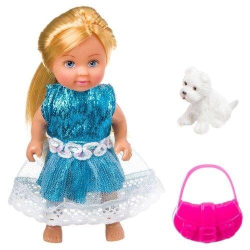 Купить Игровой набор Bondibon OLY Куколка с собачкой и сумочкой в прозрачном шаре, 11 см, ВВ3886, Куклы и пупсы