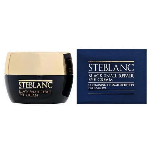 Steblanc Крем для кожи вокруг глаз Black Snail Repair Eye Cream 80% 30 мл