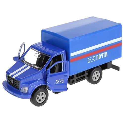 цена Фургон ТЕХНОПАРК Газон Next (SB-18-17-POST-WB) 1:43 14.5 см синий онлайн в 2017 году