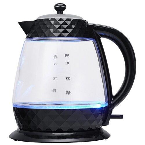 Чайник Polaris PWK 1750CGL Diamond, черный