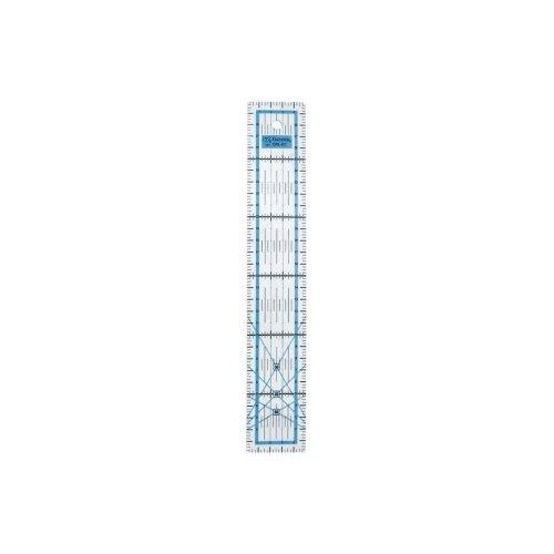 Купить Gamma Линейка для пэчворка QRL-02 5 x 30 см прозрачная, Инструменты и аксессуары