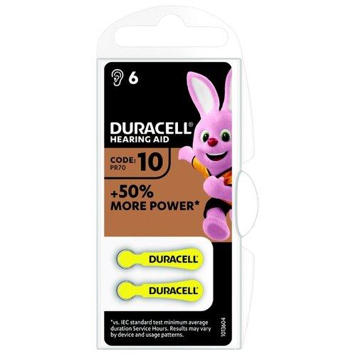 Фото - Батарейка Duracell ActiveAir 10/PR70, 6 шт. батарейка rayovac extra za312 6 шт