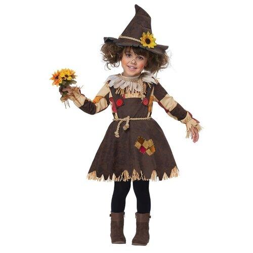 Купить Костюм California Costumes Тыквенное чучело 00177, коричневый, размер M (3-4 года), Карнавальные костюмы