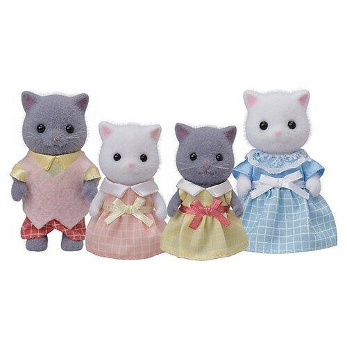 Купить Фигурки Sylvanian Families Семья персидских кошек 5455, Игровые наборы и фигурки