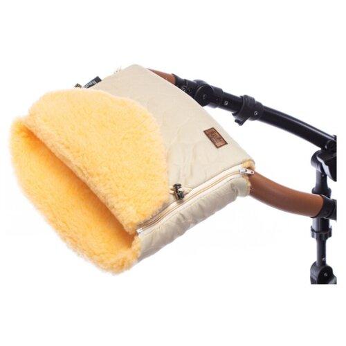Купить Муфта меховая для коляски Nuovita Polare Pesco (Crema/Кремовый), Аксессуары для колясок и автокресел