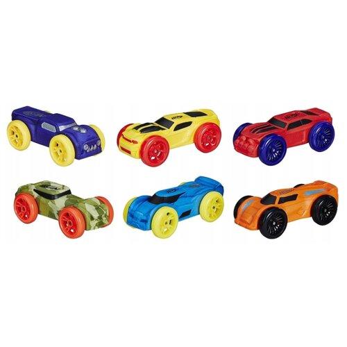Купить Набор машин Nerf Nitro из 6 моделей №3 (C3171/Е1268), Машинки и техника