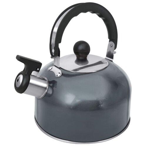 Home Element Чайник со свистком HE-WK1602 2 л, серый агат миксер home element he kp800 серый агат