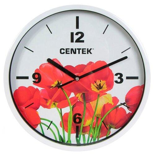Часы настенные кварцевые CENTEK CT-7102 tulips