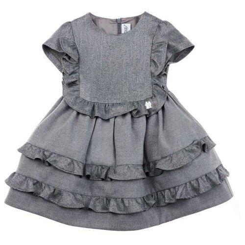 Фото - Платье Simonetta размер 80, серый simonetta tiny pубашка