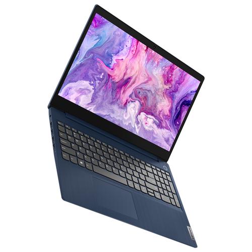 Ноутбук Lenovo IdeaPad 3 15IIL05 (81WE00KMRU), Abyss blue ноутбук lenovo ideapad 530s 15ikb 81ev003vru liquid blue