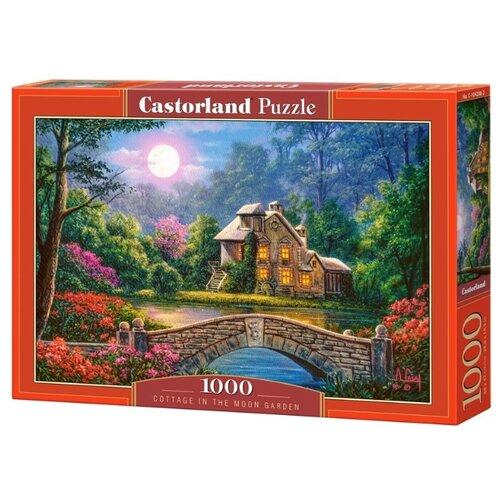 Купить Пазл Castorland Cottage in the moon garden (C-104208), 1000 дет., Пазлы