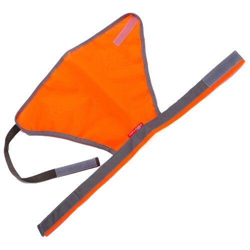Жилет для собак OSSO Fashion сигнальный 65 оранжевый
