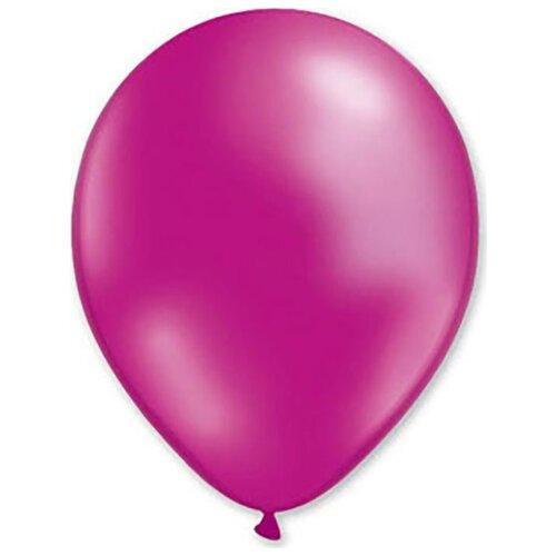 Набор воздушных шаров MILAND Металлик 31 см (100 шт.) фуксия