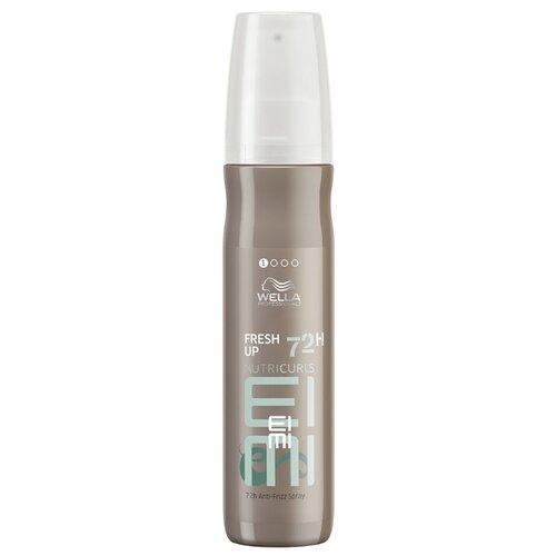 Wella Professionals Спрей для блеска вьющихся и кудрявых волос Fresh Up EIMI, 150 мл wella professionals спрей для укладки волос eimi body crafter средняя фиксация 150 мл