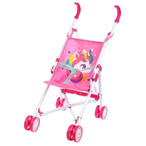 Прогулочная коляска Mary Poppins Единорог 67380 розовый