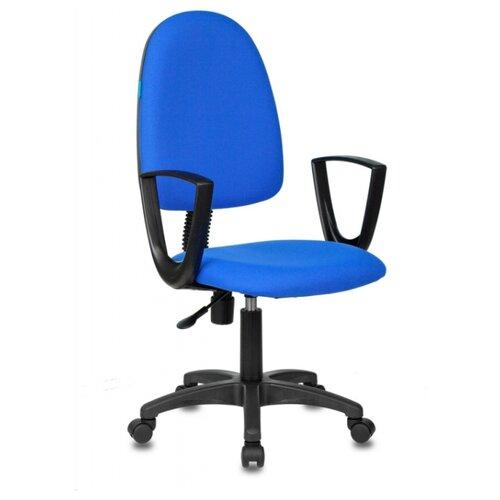 Компьютерное кресло Бюрократ CH-1300N офисное, обивка: текстиль, цвет: синий 3C06 офисное кресло бюрократ ch 1300n