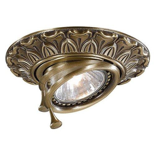 Встраиваемый светильник Reccagni Angelo Spot 1085 Bronzo встраиваемый светильник reccagni angelo spot 1082 oro