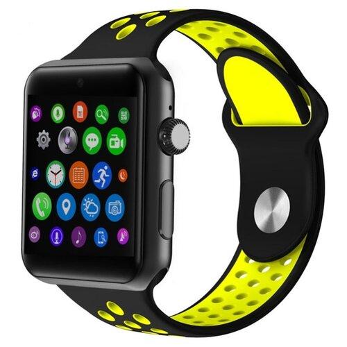 Часы Rusxun RS09S черный/желтыйУмные часы и браслеты<br>