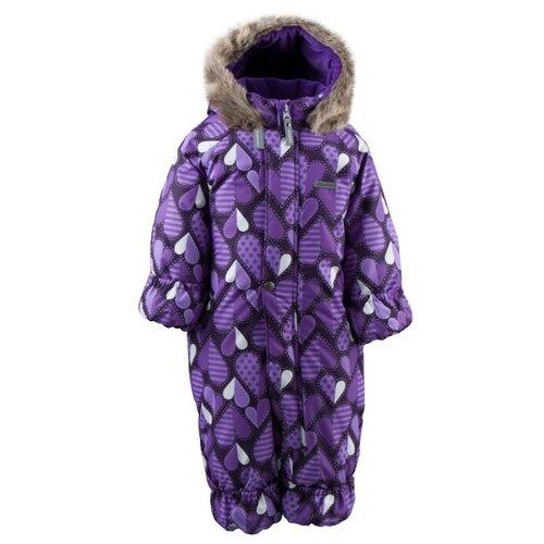 Купить Комбинезон KERRY ZOO K19406 размер 74, 3600 фиолетовый, Теплые комбинезоны