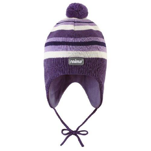 Шапка Reima размер 48, violet шапка reima reima re883cgiiul2