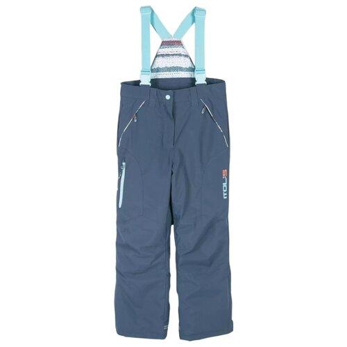 Купить Полукомбинезон COCCODRILLO Snowboard girl Z18119201SNG размер 104, синий, Полукомбинезоны и брюки