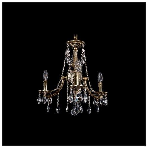 Фото - Люстра Bohemia Ivele Crystal 1771 1771/3/150/A/GB, 120 Вт люстра bohemia ivele 1771 6 150 a g