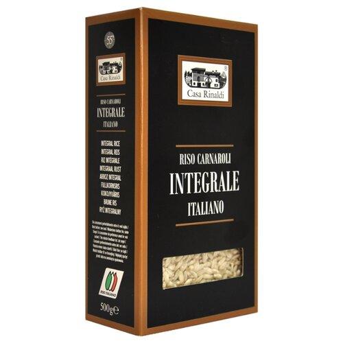 Рис Casa Rinaldi Карнароли Carnaloni Integrale среднезерный, 500 г рис casa rinaldi карнароли длиннозёрный полуобрушенный 500 г