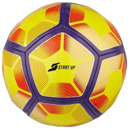 Футбольный мяч START UP E5126/12 желтый/фиолетовый 5