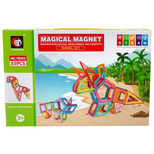 Магнитный конструктор Xinbida Magical Magnet 78002